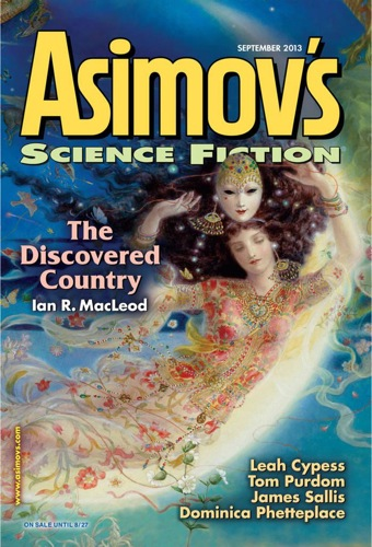 Asimov's Science Fiction Magazine, September 2013 Cover Art
