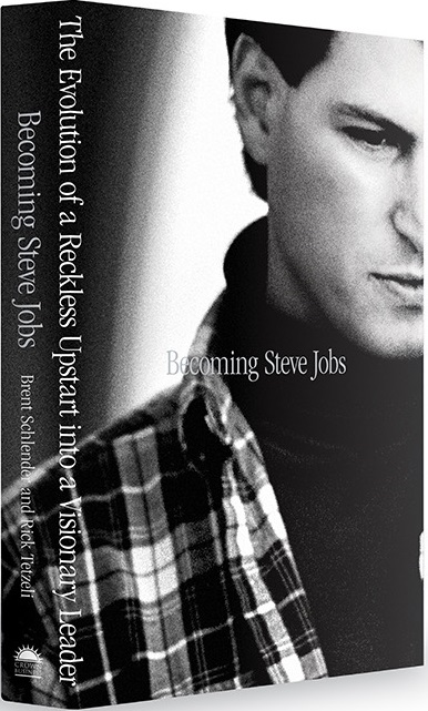 Cover photo for Becoming Steve Jobs