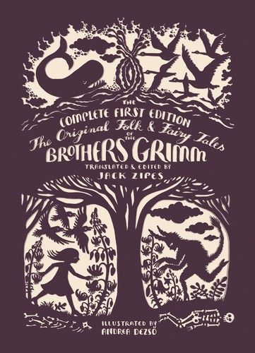 The Original Folk & Fairy Tales of the Brothers Grimm, cover art