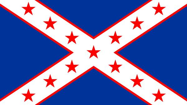 Redesigned Southern flag, attempt 1