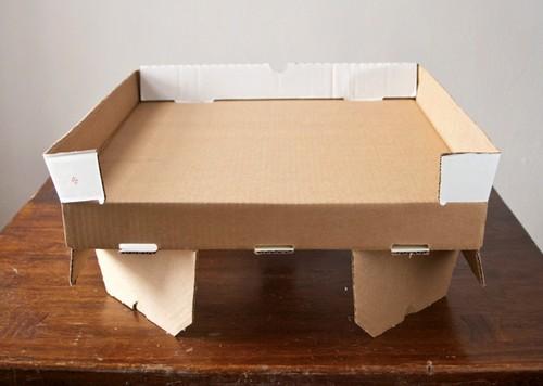 Space Saver Pizza Box
