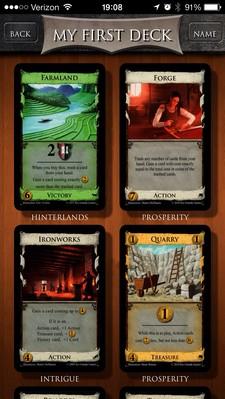 DeckBuilder: Chosen Cards